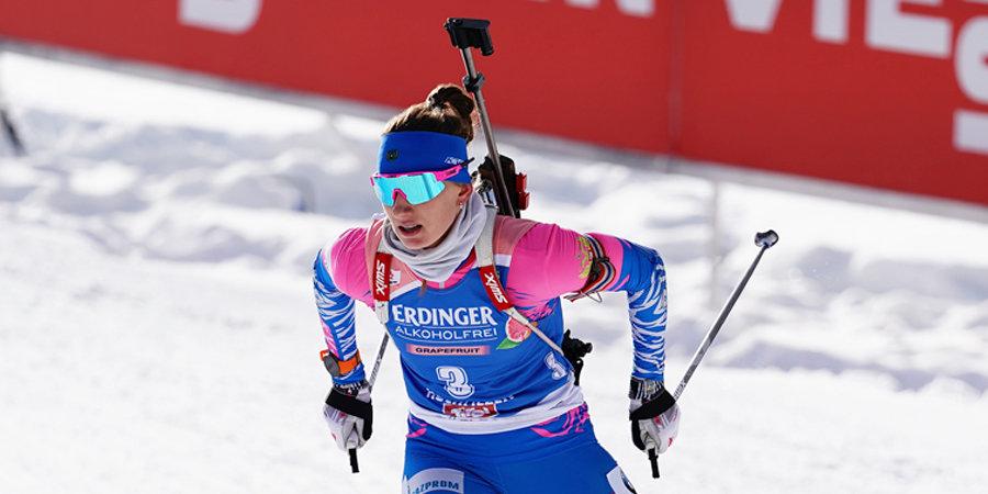 Белорусская биатлонистка Сола показала лучший ход в пасьюте, Миронова — быстрейшая среди россиянок