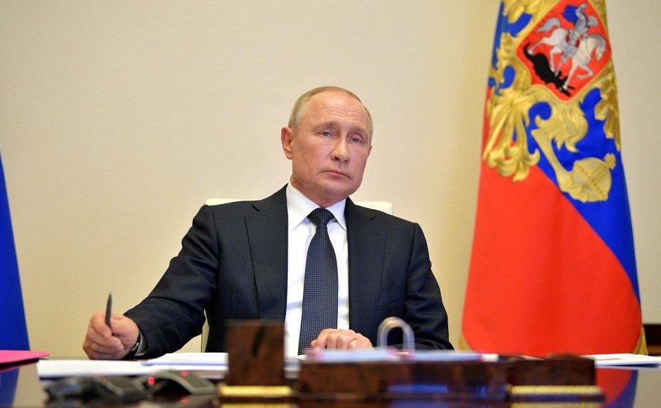 Владимир Путин: «Борьба с коронавирусом еще далеко не закончена». Пандемия и спорт: онлайн «Матч ТВ»