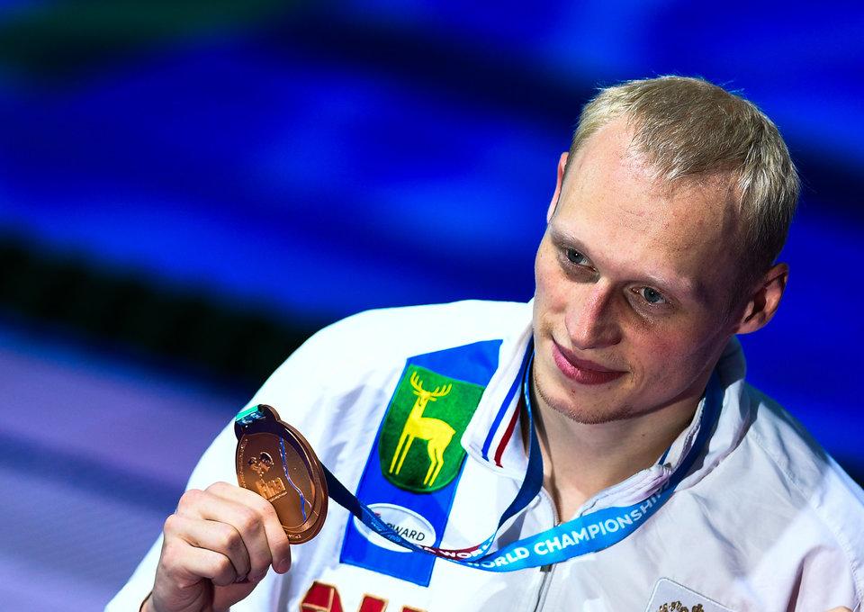 Захаров будет знаменосцем сборной России на церемонии открытия Универсиады в Тайбэе