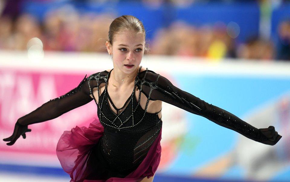 Александра Трусова: «Я возвращаюсь к Тутберидзе? Это слухи, мне комфортно с Плющенко»