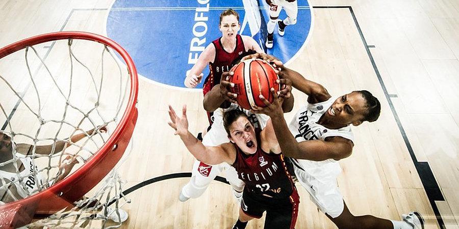 Сборная Франции обыграла Бельгию в овертайме и прошла в полуфинал Евробаскета