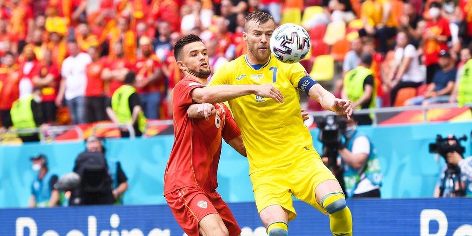 Украинские футболисты вошли в историю Евро