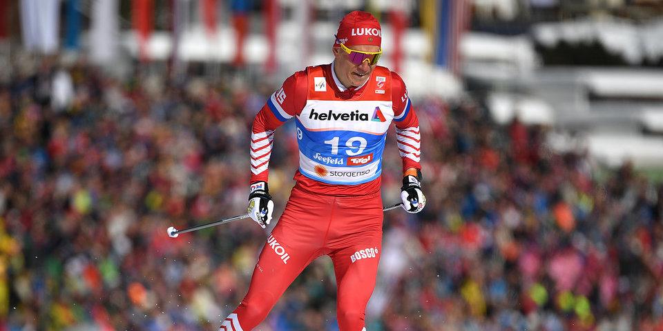 Фантастический рывок Большунова принес ему серебро ЧМ в гонке на 50 км. Видео