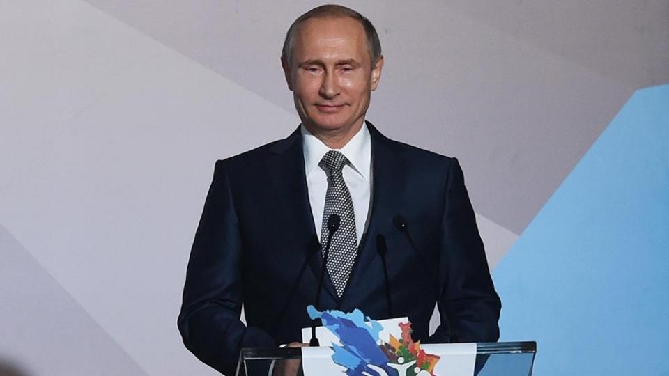 Путин пожелал российским спортсменам удачи на Универсиаде в Китае