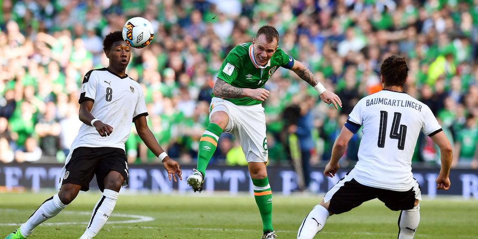 Ирландия спасается в матче с Австрией: все голы
