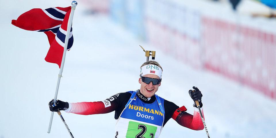 Йоханнес Бе и другие норвежские биатлонисты не подписали контракты с национальной федерацией