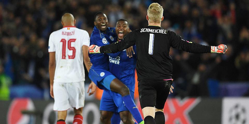 Шмейхель тащит пенальти, Варди удаляет Насри. «Лестер» готов к финалу Лиги чемпионов