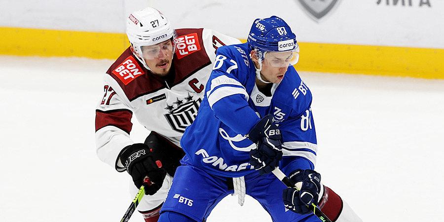 Шипачев помог «Динамо» добиться седьмой победы подряд. Кудашов повторил рекорд Знарка в КХЛ