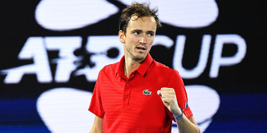 Даниил Медведев: «Всегда здорово подняться в рейтинге ATP, сделав что-то особенное»