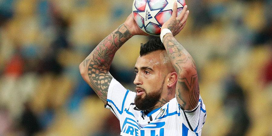 Источник: «Зенит» может предложить Видалю 4 млн евро в год, игрок не нужен «Интеру»