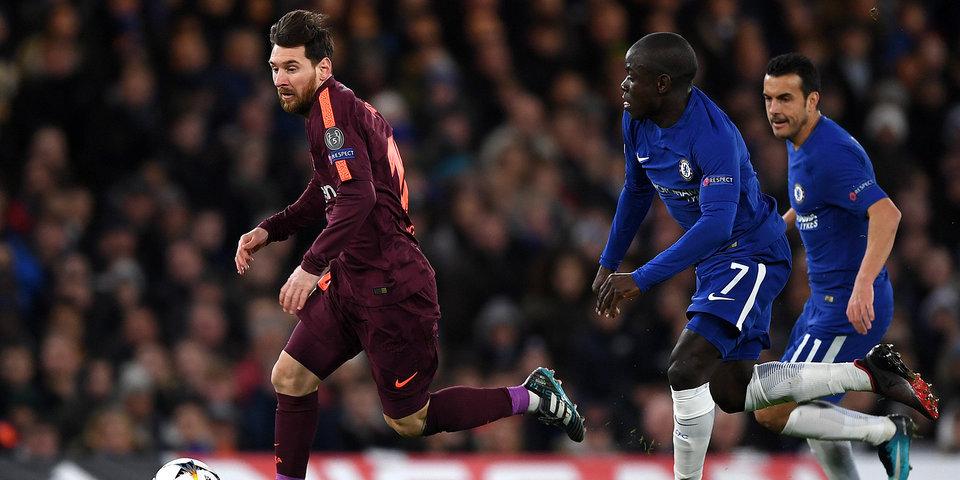 «Челси» и «Барселона» не выявили сильнейшего в первом матче 1/8 финала ЛЧ
