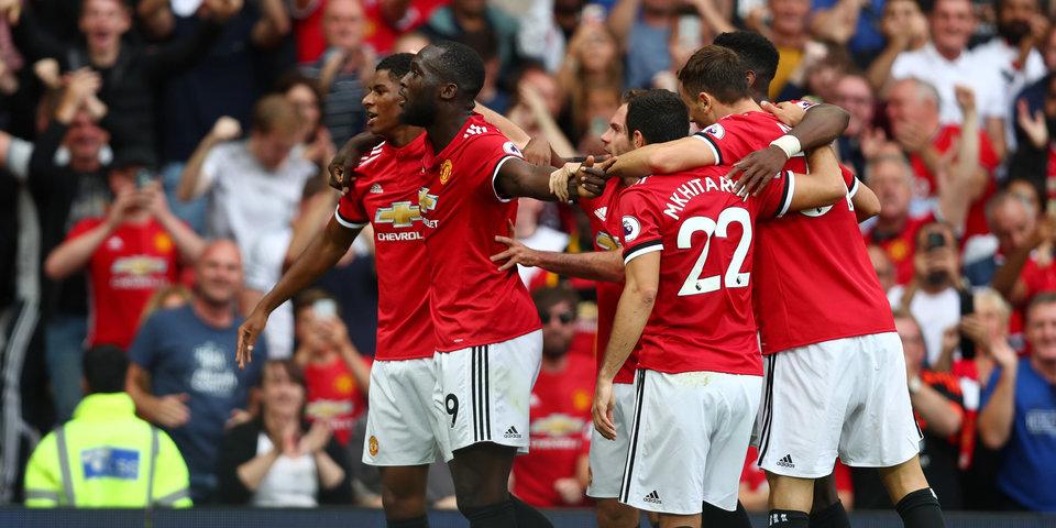 «Манчестер Юнайтед» разгромил «Эвертон» на «Олд Траффорд»
