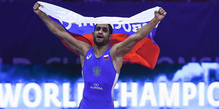 Борец Марянян стал бронзовым призером чемпионата мира