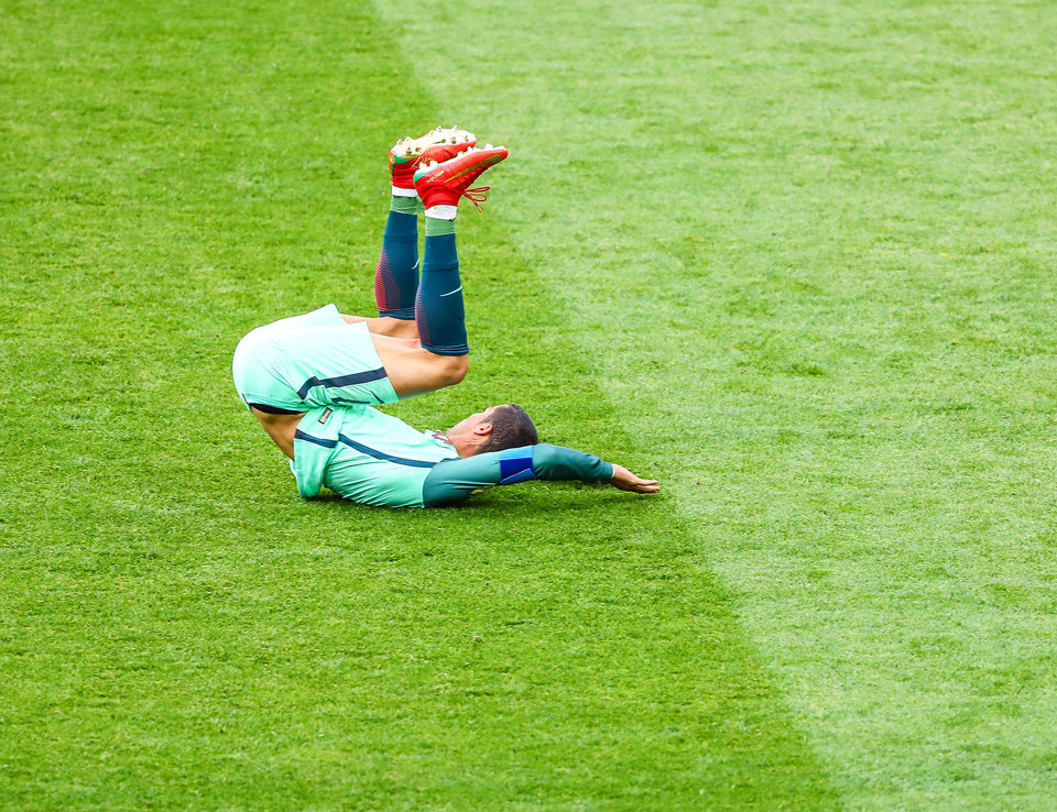 Сборная Португалии готовится к матчу за 3-е место Кубка конфедераций не в полном составе