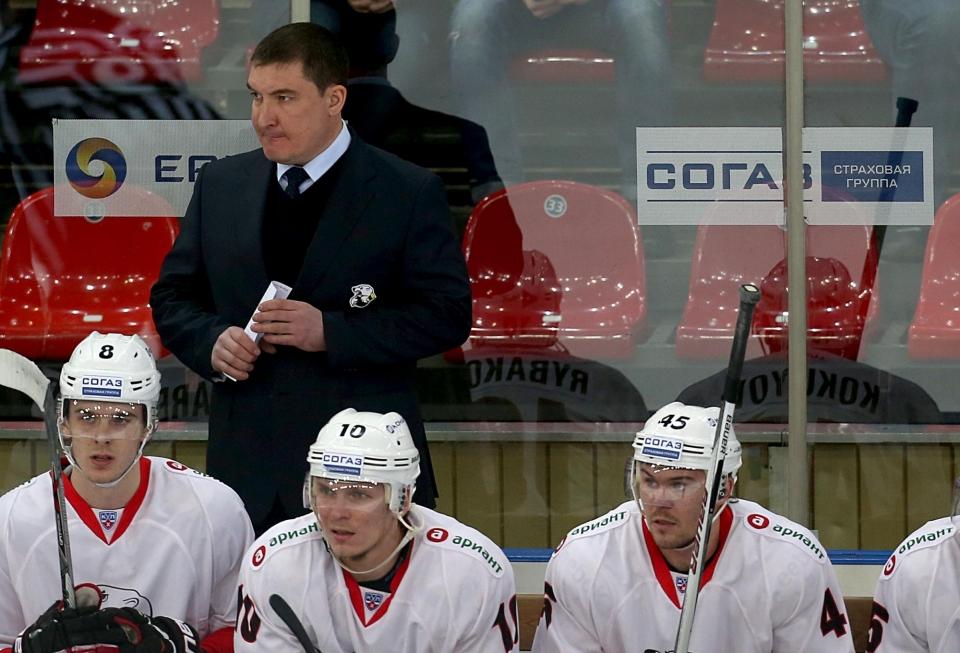 Определилась первая пара стартового раунда Кубка Гагарина