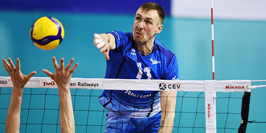 Волейболист Филиппов выбрал 11-й номер в память о погибшем Галимове