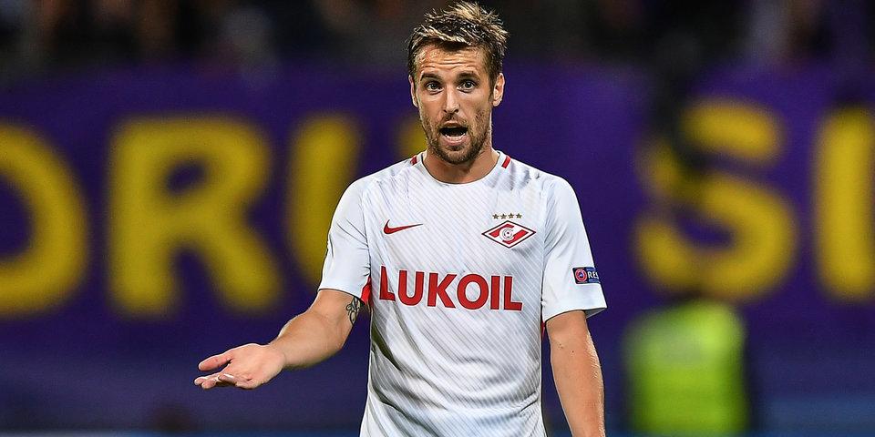 Комбаров и Зобнин начнут матч против «Рубина» в стартовом составе «Спартака»