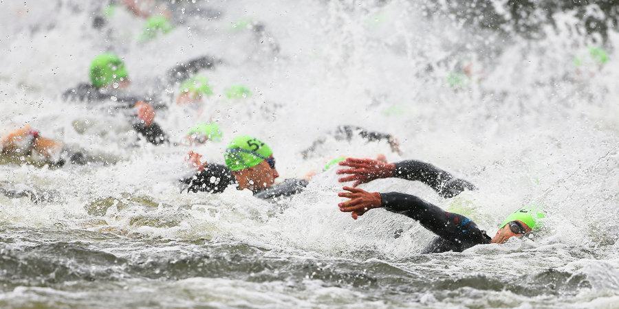 Старт триатлона на Олимпиаде едва не завершился трагедией