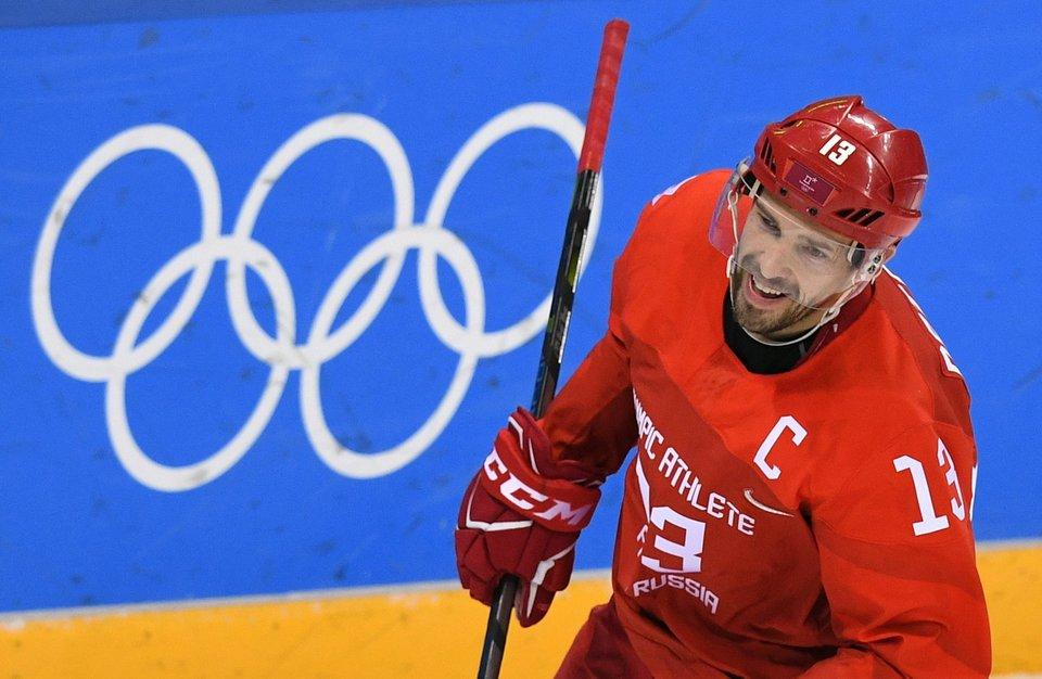 Павел Дацюк: «Очень переживали перед матчем с чехами. Чувствовалось напряжение»