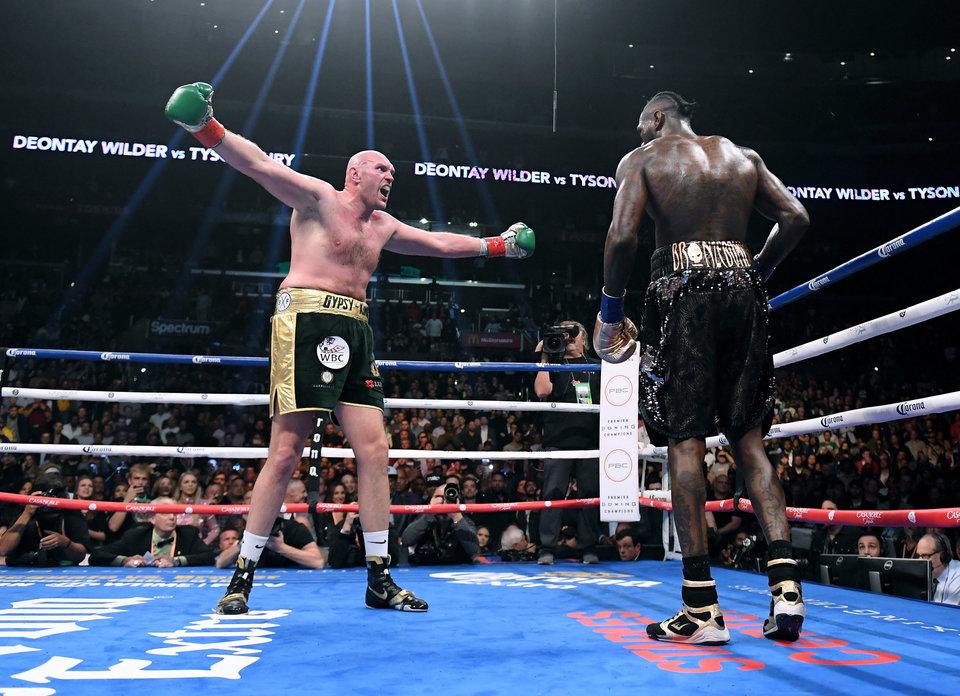 Тайсон Фьюри: «Если бы я не хотел драться с Уайлдером, то не согласился бы на бой в первый раз»