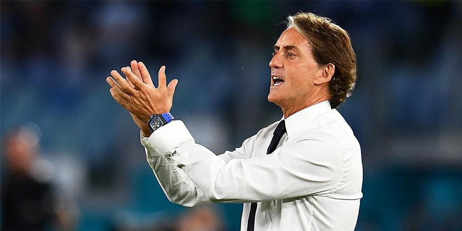 Роберто Манчини: «У Испании по-прежнему отличная сборная и очень способный тренер»