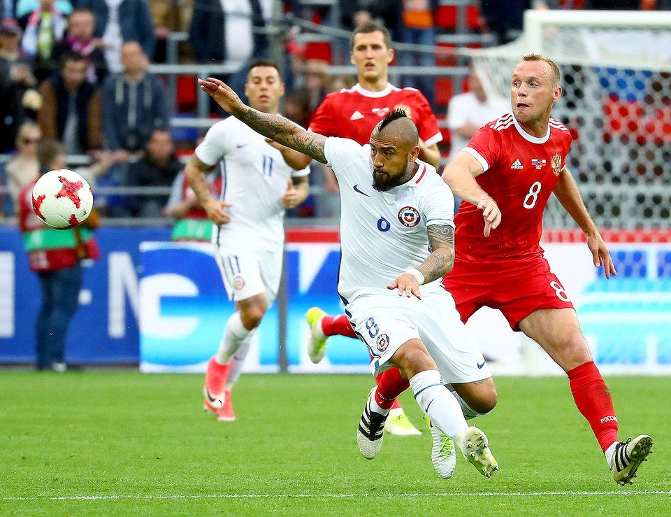 Денис Глушаков: «Мне не впервой играть против футболистов уровня Видаля»