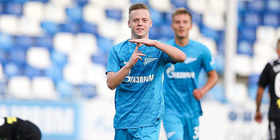 Молодежная команда «Зенита» забила 6 голов в ворота «Химок»