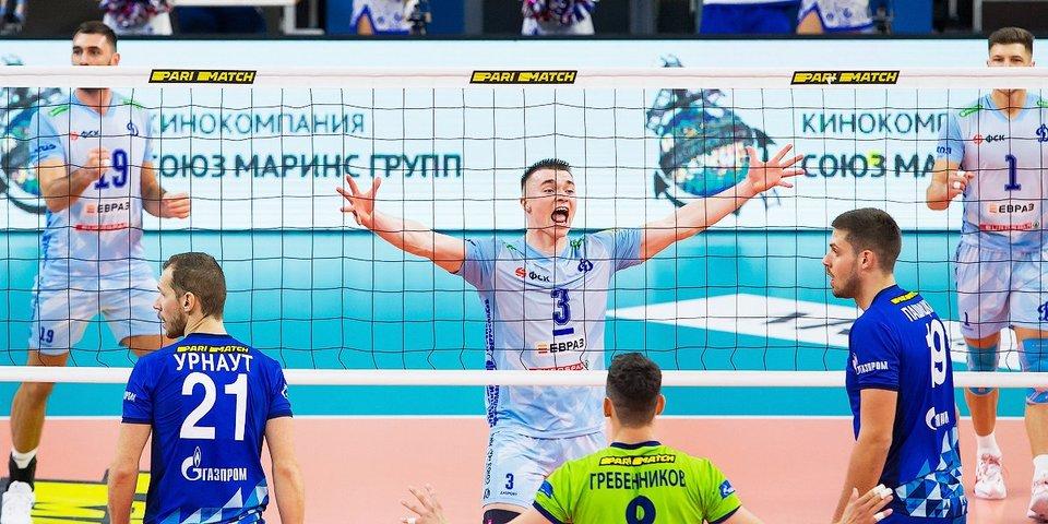 Московское «Динамо» обыграло петербургский «Зенит» и завоевало Суперкубок России