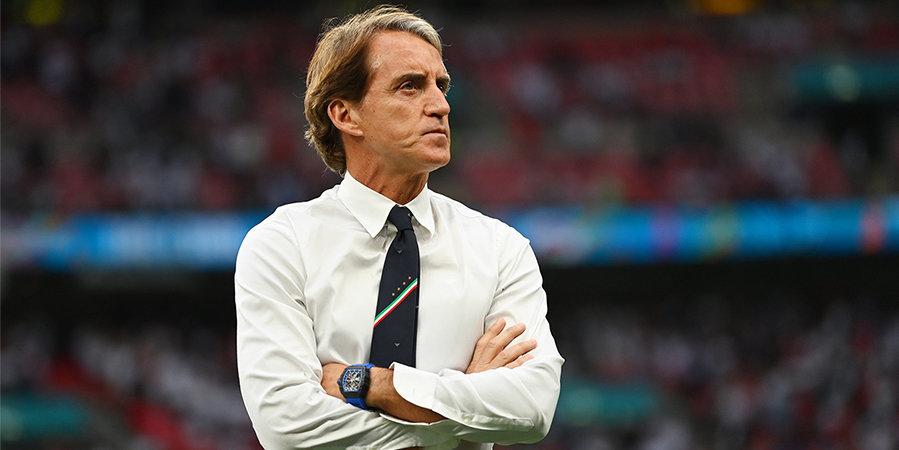 Манчини установил историческое достижение в сборной Италии