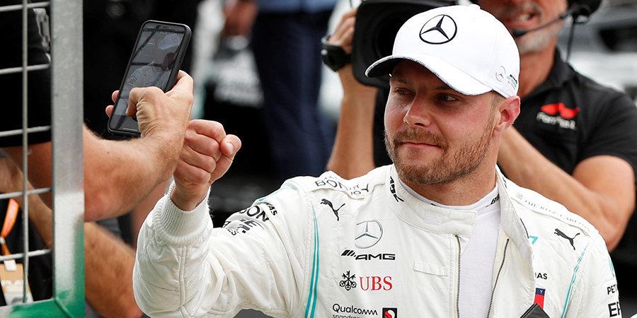 «Это «Формула-1», тут происходят сумасшедшие вещи, поэтому нет смысла сдаваться». Боттас — о шансах на чемпионство