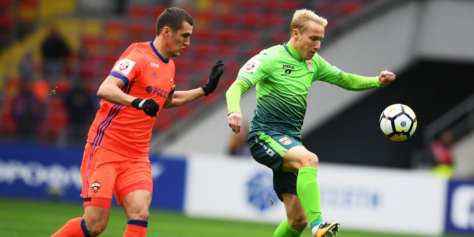 Полузащитник «Уфы» избежал серьезной травмы в матче с «Оренбургом»