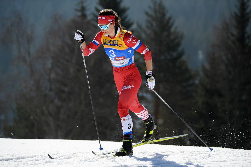 Непряева выиграла индивидуальную гонку на чемпионате России