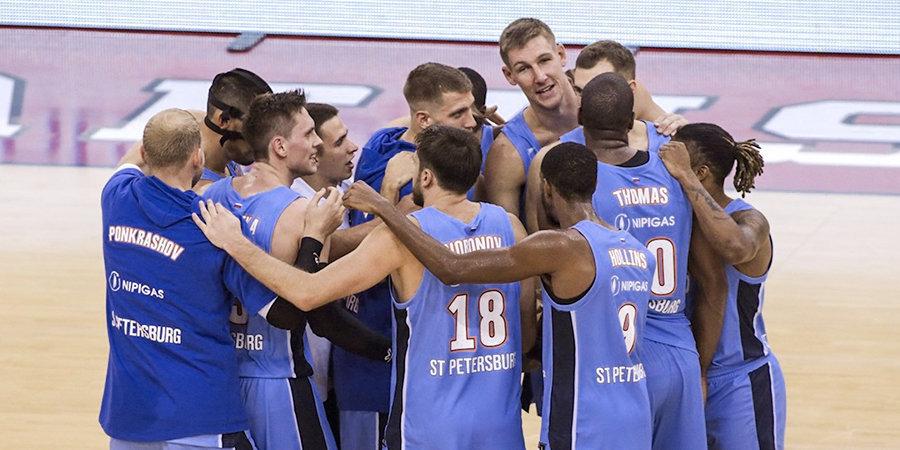 Первая победа «Зенита» в Евролиге! В овертайме повержен «Олимпиакос»