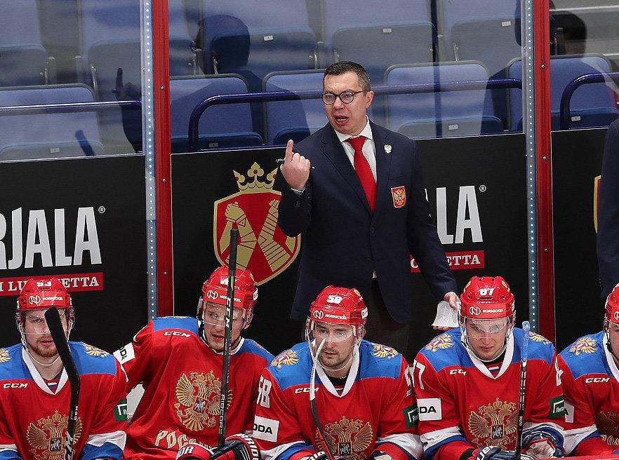 Воробьев рассказал о задачах сборной России по хоккею на сезон