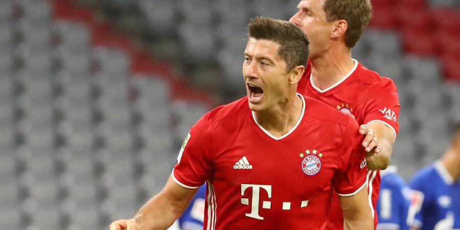 Левандовский установил рекорд Бундеслиги по количеству голов в начале сезона