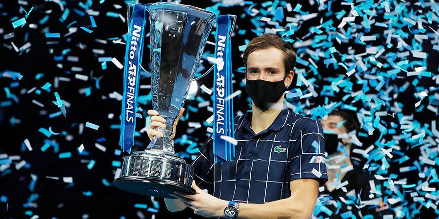 Медведев стал победителем Итогового турнира ATP