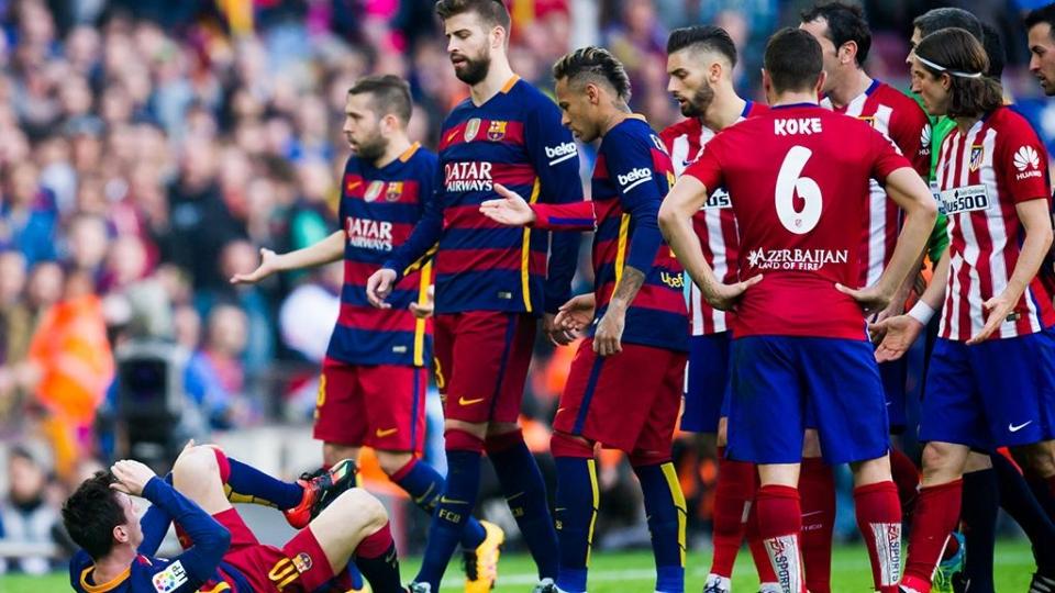 «Барселона» сыграет с «Атлетико» в полуфинале Кубка Испании