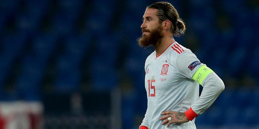 Рамос не явится на пресс-конференцию сборной Испании, чтобы не обсуждать продление контракта с «Реалом»