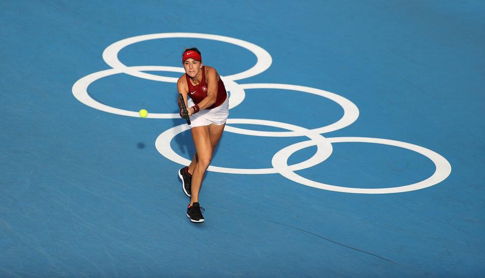 Бенчич завоевала золото Олимпиады в одиночном разряде