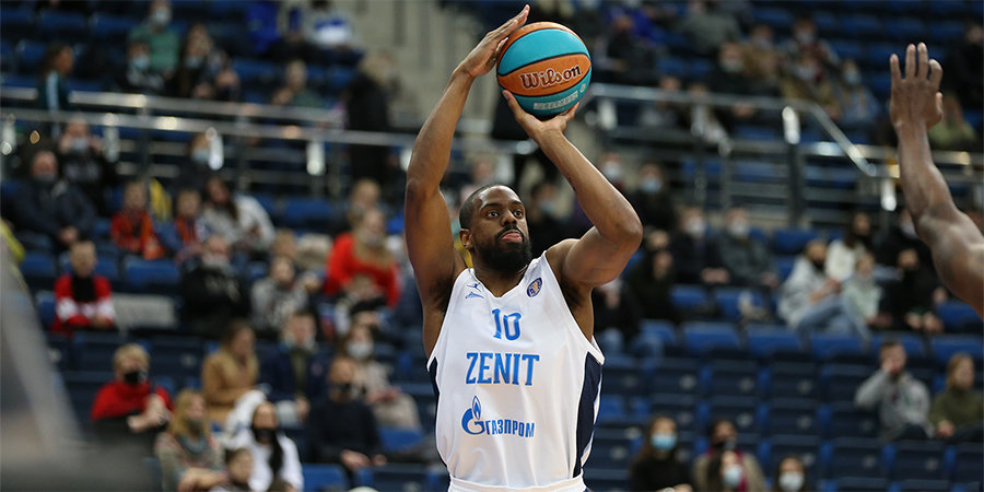 «Зенит» обыграл «Енисей» в Единой лиге ВТБ