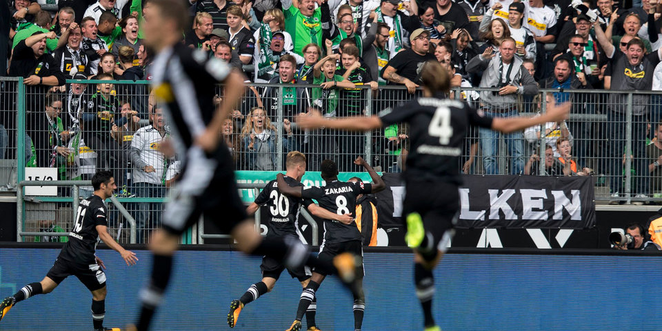«Кельн» начал сезон бундеслиги с поражения в Менхенгладбахе