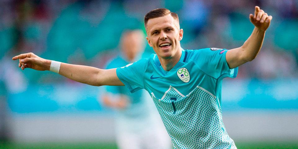 «Аталанта» приобрела хавбека сборной Словении у «Фиорентины»