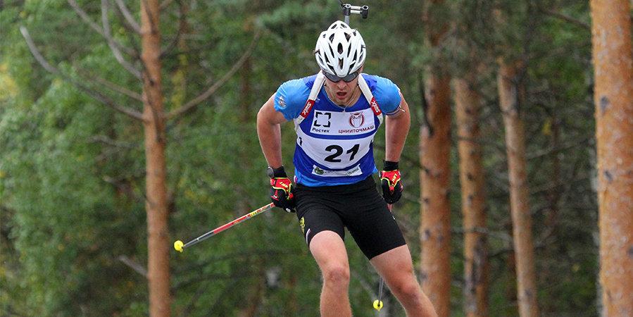 Елисеев назвал причину снятия с индивидуальной гонки на ЧР по летнему биатлону