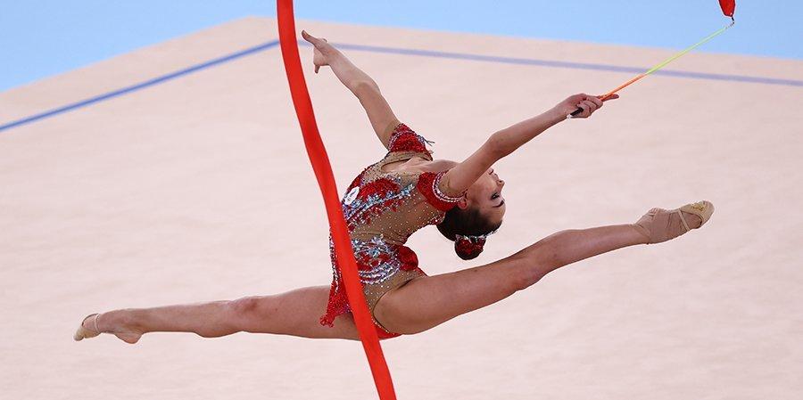 Дина Аверина лидирует после первого дня соревнований Olympico Cup