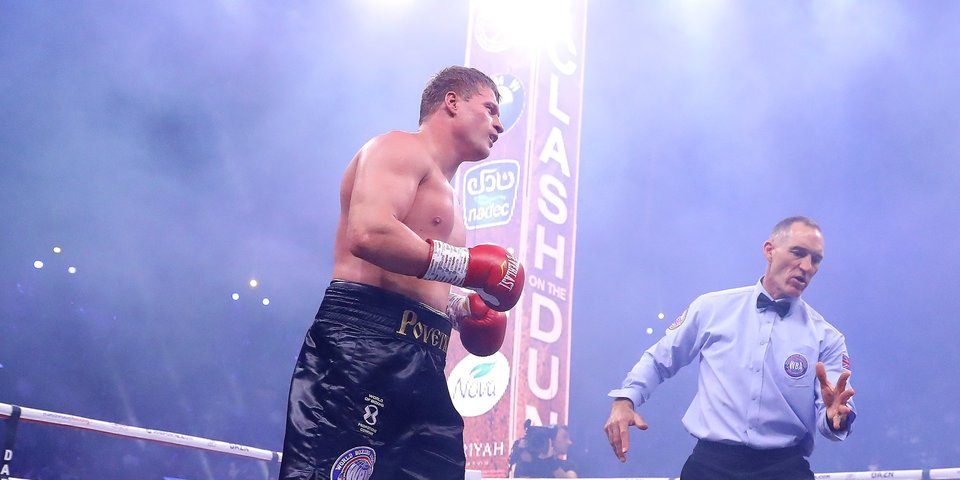 Поветкин отказался от госпитализации сразу после боя-реванша с Уайтом