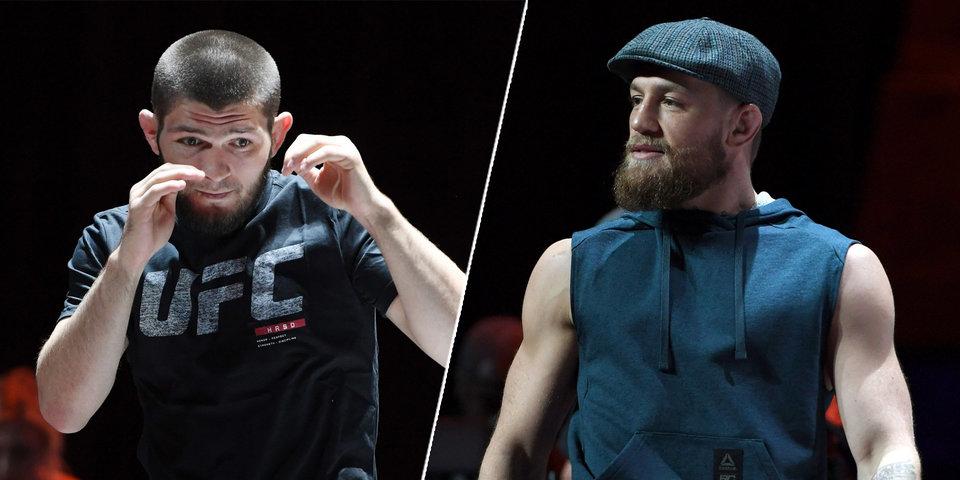 UFC планирует устроить Гран-при с участием Нурмагомедова и Макгрегора
