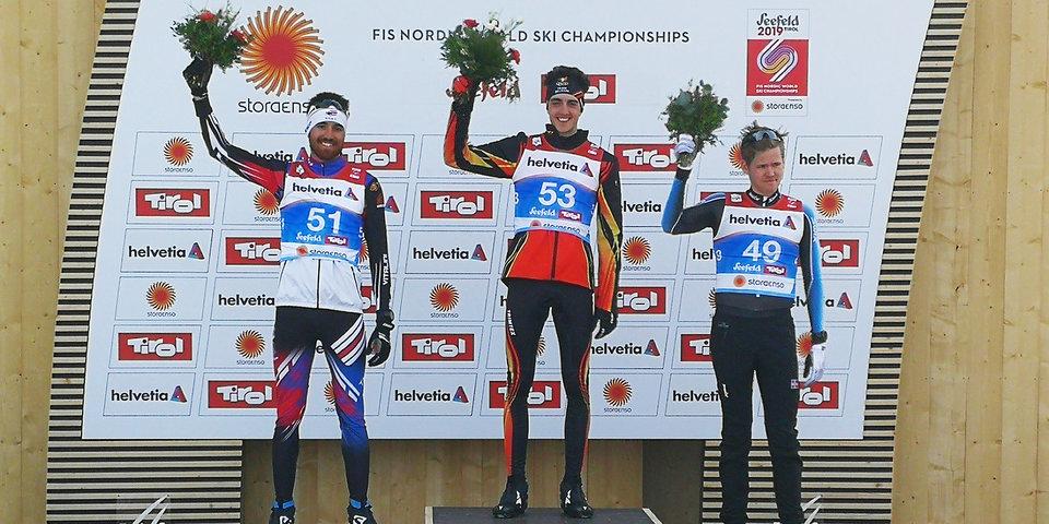 Первую мужскую гонку лыжного ЧМ выиграл бельгиец. Чтобы подготовиться, он занимал деньги у друзей