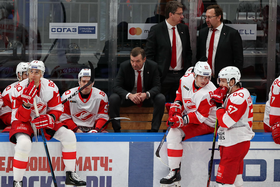 «Спартак» установил новый клубный рекорд посещаемости домашних матчей в КХЛ