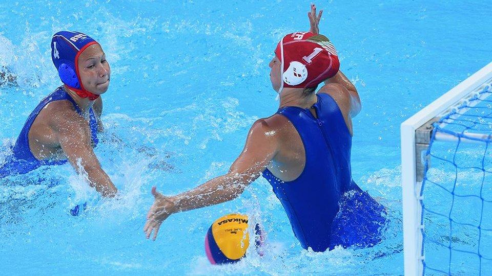 Российские ватерполистки одержали уверенную победу над сборной Казахстана