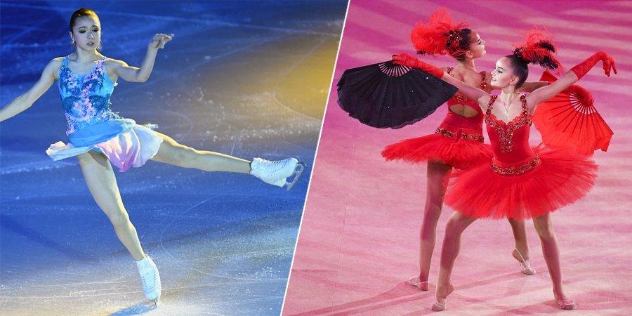 Валиева в гимнастике, Игнатов в плавании. А что если бы фигуристы выступали на летних Олимпийских играх?